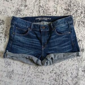 American Eagle high-waisted jean shorts